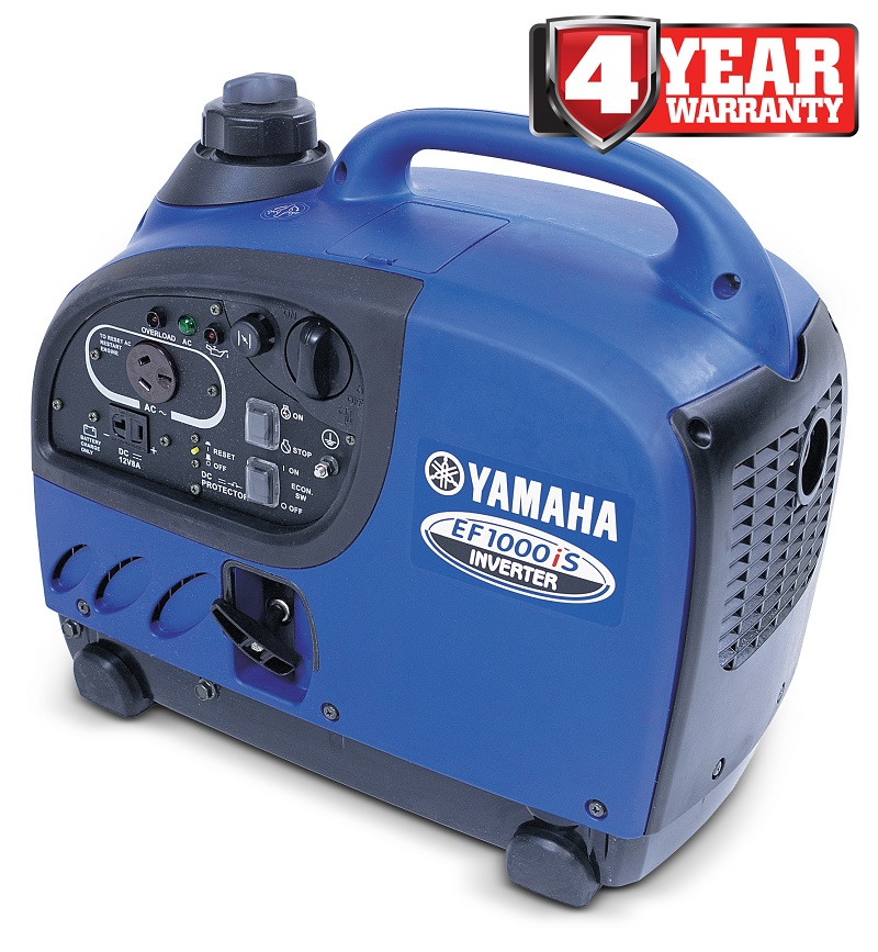 Onsite trade equipment 1 kva yamaha inverter generator for Yamaha generator ef1000is